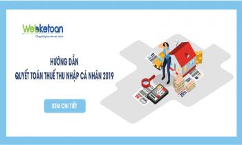 Hướng dẫn quyết toán thuế TNCN năm 2019