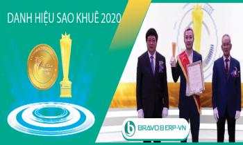 BRAVO 8 (ERP-VN) tiếp tục được vinh danh tại Danh hiệu Sao Khuê 2020