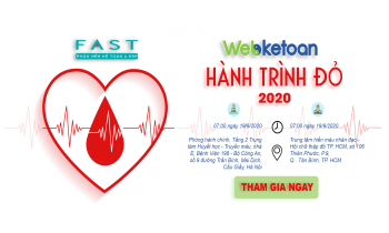 Webketoan hành trình đỏ lần 3 tại Hà Nội & TP. HCM