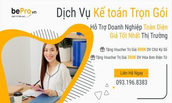 Bepro.vn – Dịch vụ kế toán thuế trọn gói hiệu quả tại HCM