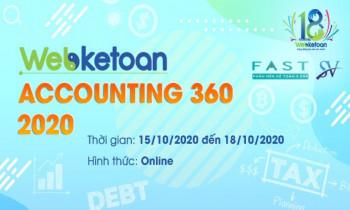 "Cuộc thi ""Webketoan Accounting 360 – 2020"""