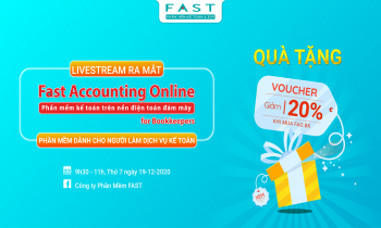 [Livestream] Ra mắt Fast Accounting Online for Bookkeepers – Phần mềm kế toán online dành cho người làm dịch vụ kế toán