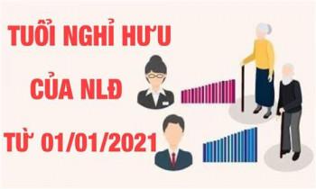 Những quy định mới về tuổi nghỉ hưu từ năm 2021