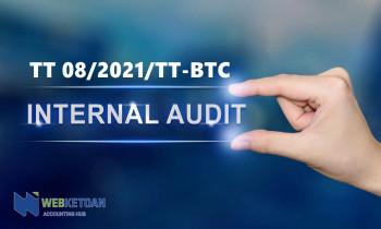 Thông tư 08/2021/TT-BTC chuẩn mực kiểm toán nội bộ Việt Nam