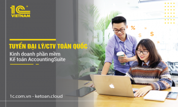 03 lí do nên trở thành Đại lý/ CTV kinh doanh phần mềm kế toán của 1C Việt Nam?