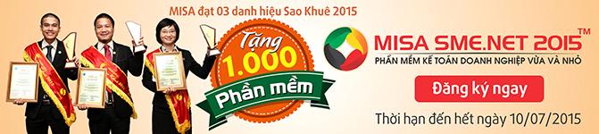Anh 1 - MISA tang PMKT cho 1000 doanh nghiep moi thanh lap