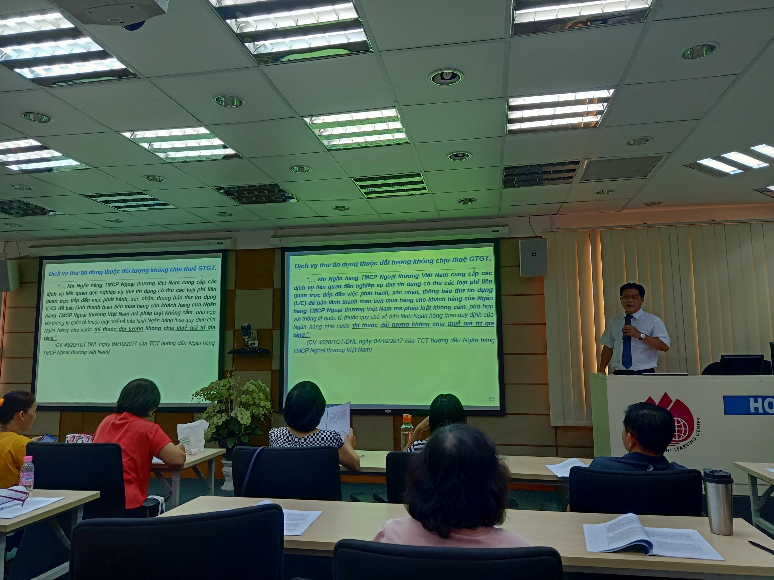 Hội thảo cập nhật chính sách thuế tháng 6/2020
