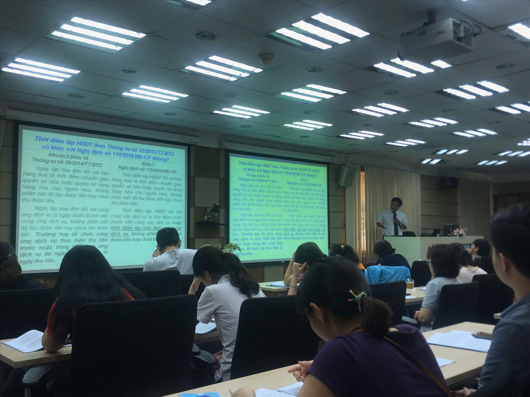 Hội thảo cập nhật chính sách thuế