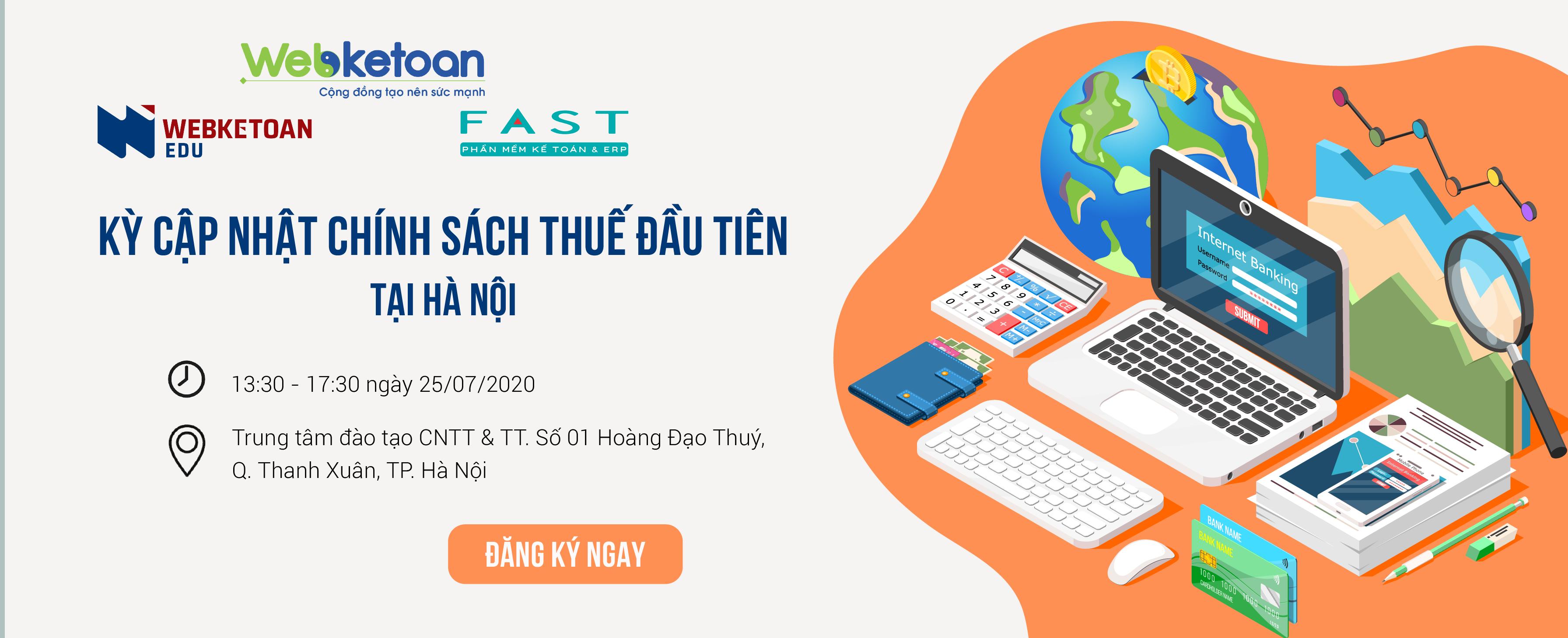 Hội thảo cập nhật chính sách thuế tại Hà Nội