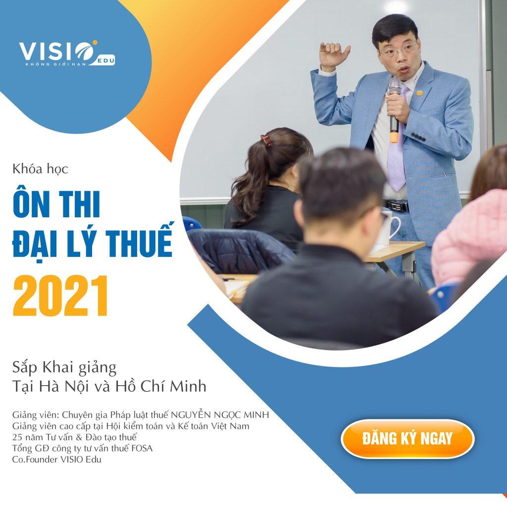 ôn thi đại lý thuế 2021