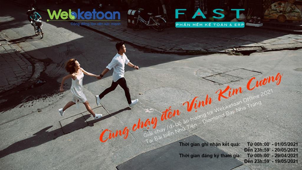 Cùng chạy tới Vịnh Kim Cương