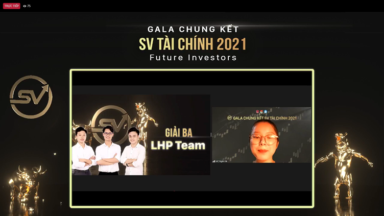 Giải ba cuộc thi SV Tài chính 2021